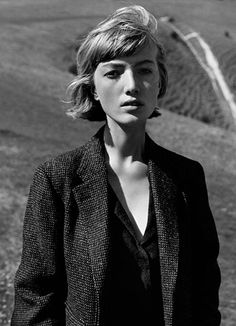 MARGARET HOWELL AUTUMN WINTER 2015 CAMPAIGN Photographed on the South Downs and Devil's Dyke, East Sussex. Photographed by Alasdair McLellan