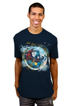 planet fusion T-shirt by kharmazero from Design By Humans.