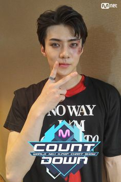 Sehun @ M Countdown 090616