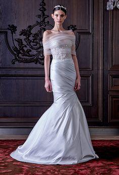 Monique Lhuillier Spring 2016 | NY Bridal Week