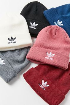 Shop adidas Originals Trefoil Beanie at Urban Outfitters today. Cute Comfy Outfits, Sporty Outfits, Nike Outfits, Teen Fashion Outfits, Swag Outfits, Trendy Outfits, Cool Outfits, Beanie Outfit, Beanie Hats