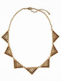 Le Noir Sparkler Necklace-trendy fashion jewelry necklace, gold fashion jewelry necklace, black and gold jewelry necklace, black and gold statement necklace, trendy fashion jewelry for women
