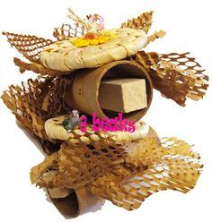 cavatelli Parrot Toys, Pet Rabbit, Bird Toys, Parrots, Stuffed Mushrooms, Treats, Food, Stuff Mushrooms, Sweet Like Candy