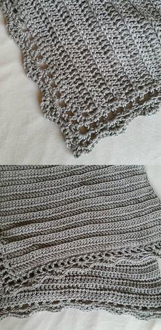 Classic Baby Blanket Free Crochet Pattern