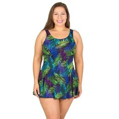 fdbc0620b79 Mastectomy Women's Swimsuits, Swimdresses, and One-Piece Swimwear. Plus Size  ...