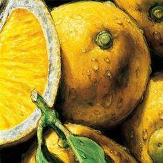 Картина Лимон художника АЛЬМАХ