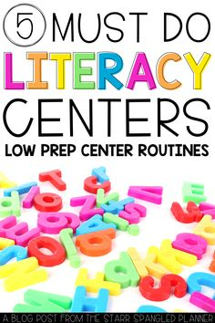 5 MUST TRY Literacy