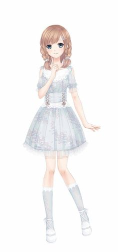 Love Nikki character design // Yoko