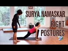Surya Namaskar Part-1 Right Postures - YouTube #yoga #inspiration #deviyogaforwomen  www.deviyogaforwomen.com