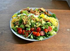 Fresh and Delicious Cobb Salad's are easy to make and perfect for warmer summer weather!