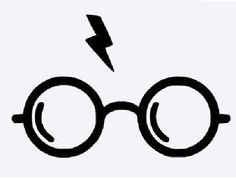 Potter Glasses Vinyl Decal!