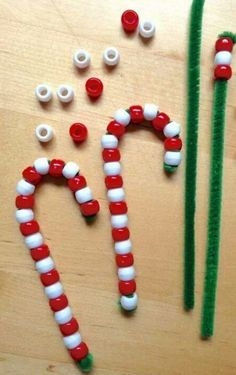 preschool, candy canes