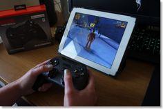 SteelSeries Stratus XL playing GTA on iPad