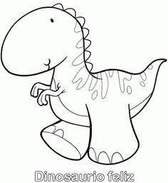 Dibujos para colorear. Maestra de Infantil y Primaria.: Dinosaurios para colorear Coloring For Kids, Adult Coloring Pages, Coloring Sheets, Coloring Books, Sketchbook Drawings, Easy Drawings, Dinosaur Crafts, Dinosaur Birthday Party, Kids Cards