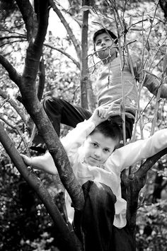 Moments in Childhood: Climbing Trees