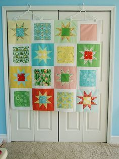 hopscotch quilt top.   Flickr - Photo Sharing!
