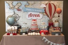 Boys Birthday Party Ideas for Airplanes