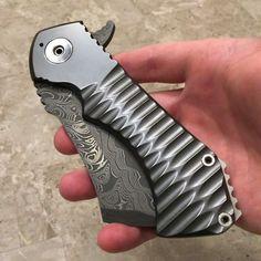 My @radknives zirconium Field Cleaver...love this knife! #radknives…