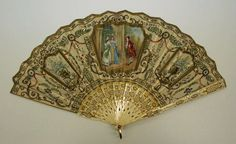 Fan - 1920's - by Tiffany & Co.  (1837-present) - Silk - The Metropolitan Museum of Art- @~ Mlle