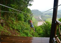 Mauritius is well-known for the variety of activities. Ziplining is one of them. This Zipline is 500m long!