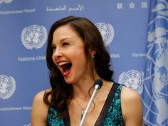 Actress Ashley Judd became the breakout star of the Women's March on Washington
