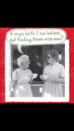 A virgin birth I can believe, but finding three wise men?