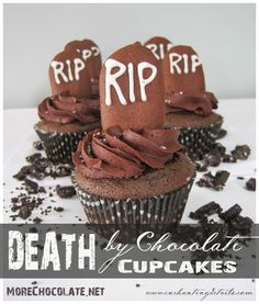 Sweet {Trick or} Treat Tuesday:: Death by Chocolate