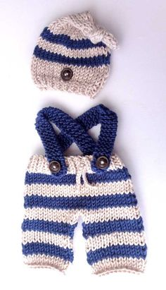 Free Crochet Baby Sailor Hat Pattern/etsy*com Crochet Baby Pants, Crochet For Boys, Newborn Crochet, Crochet Baby Booties, Knit Crochet, Free Crochet, Baby Knitting Patterns, Baby Booties Free Pattern, Teddy Bear Clothes
