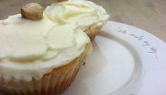 Walnoot cupcakes met roomkaas glazuur - PaTESSerie