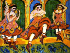 Czardastänzerinnen (Ernst Ludwig Kirchner)