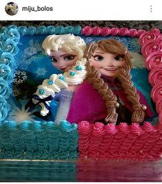 68 Best Ideas For Birthday Cake Kids Disney Frozen Party Elsa Birthday Cake, Frozen Themed Birthday Party, 1st Birthday Girls, Bolo Elsa, Pastel Frozen, Fondant Girl, Happy Birthday Wallpaper, Elsa Cakes, Disney Frozen Party