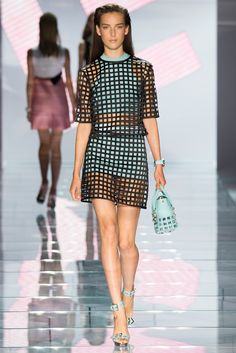 Versace Spring 2015 Ready-to-Wear - Collection - Gallery - Look 1 - Style.com