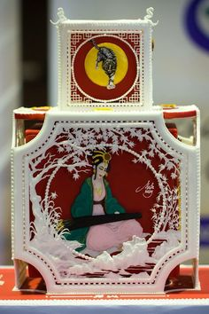 Cake design italian festival 2014 - royal icing competition 1 place