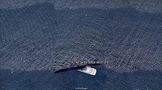 Imágenes de dos mundos paralelos juntos entremezclados - Misterios del Google Earth