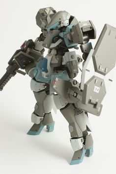 Custom Build: HG 1/144 Graze [Detailed] - Gundam Kits Collection News and Reviews