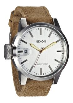 NIXON | The Chronicle in Desert Suede
