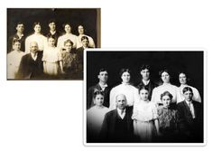 The Photo Restoration Center Before & After Examples. Including fixing faded photos, repairing cracks & tears, replacing missing areas, mold removal & more. Photo Restoration, Photo Wall, Frame, Movie Posters, Picture Frame, Photograph, Film Poster, Frames, Popcorn Posters