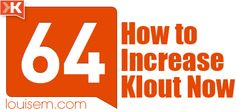 How to Increase Klout After Klout Changes & Why You Should Care! http://louisem.com/1799/how-to-increase-klout-after-klout-changes