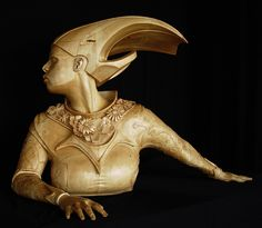 Figurative Wood Sculpture