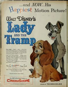 """Lady and the Tramp"" ad (LOOK magazine; 1955-06-28)"
