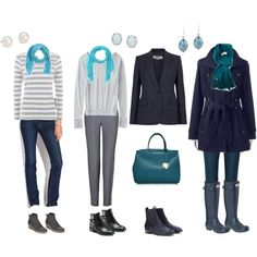 """DZ-approved : """"These are beautiful! I love them for you."""" """"grey winter stripes 2"""" by pidget2 on Polyvore"""
