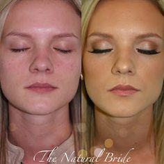 Kissable Complexions: Airbrush trial: Hannah Hall