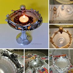 Are you tired of store-bought Halloween decorations that have become generic? Always see the typical witch's hat or pumpkins sprawled all over everyone's front doors, or the usual centerpieces on coffee tables? Then it's the year to go all-out crafty and make your very own unique and creative Halloween decorations. Wow your friends with these...Read More »
