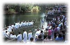 #1 on my bucket list: Getting baptized in the Jordan River, Israel