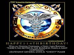 Happy Birthday Hospital Corps!