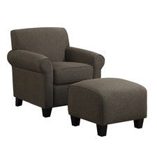Winnetka Arm Chair & Ottoman Set