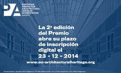 2ª Premio Europeo de Intervención en el Patrimonio Arquitectónico AADIPA