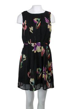 Kleid mit Blumenprint Gr. 38/40