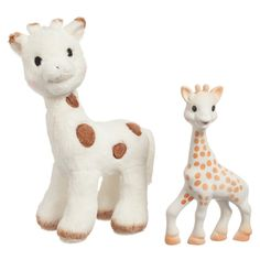 Sophie La Giraffe Soft & Teething Baby Toy Set (Boxed Set of 2) at Childrensalon.com