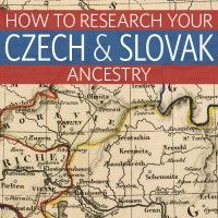 Many Czech & Slovak peoples immigrated to the US and Canada during the last 2 centuries.  Fourth generation descendants likely don't speak the language, which makes researching these ancestors seem daunting.  This book should help.